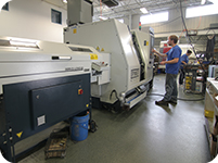 Lathes at John Prosock Machine, Inc,