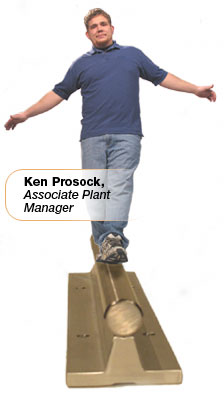 Ken Prosock, Associate Plant  Manager at  John Prosock Machine, Inc.